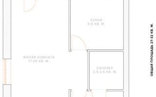Какие варианты перепланировки трехкомнатной квартиры?