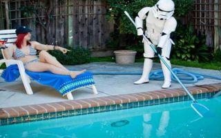 Как провести очистку бассейна?