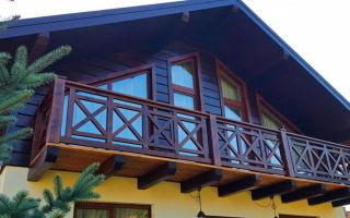 Как оформить балкон в частном доме?