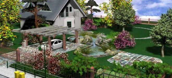 Как произвести планировку огорода?