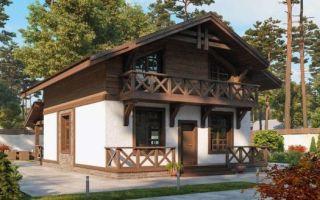 Какие преимущества комбинированных проектов домов?