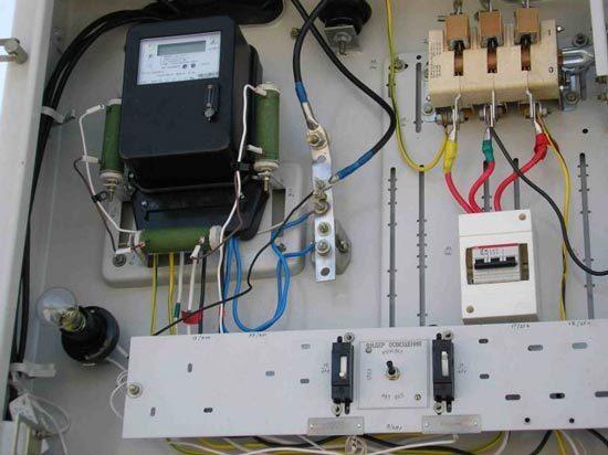 Схемы подключения электроснабжения в частном доме - как провести электричество на даче