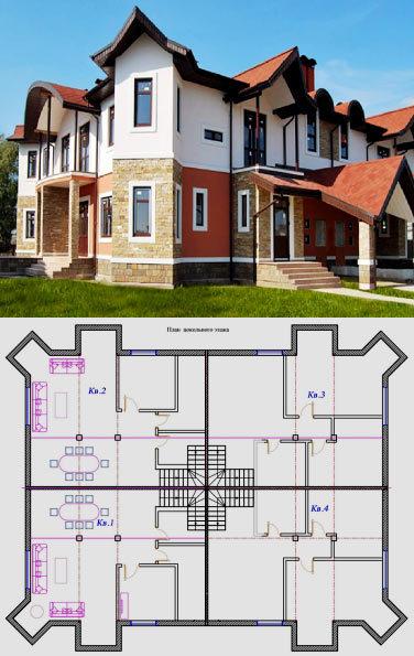 Квадрохаус: проекты, отзывы и преимущества строительства