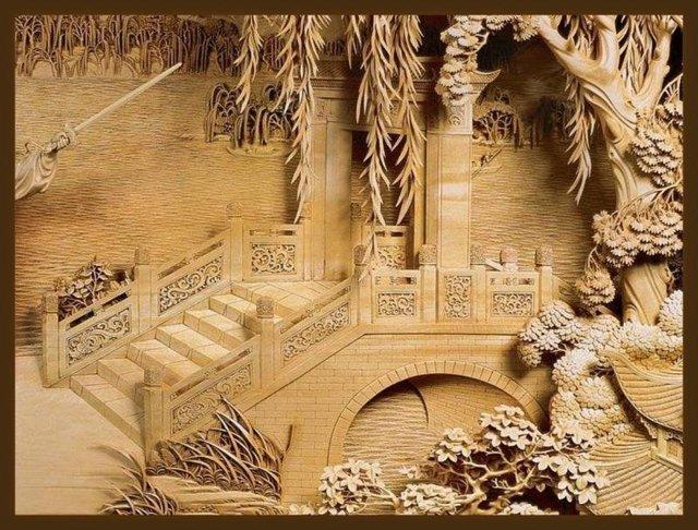 Накладная резьба по дереву: рисунки, эскизы и элементы