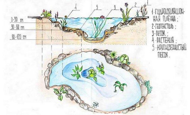 Как выкопать пруд на своем участке для разведения рыбы: можно ли вырыть водоем экскаватором своими руками на даче