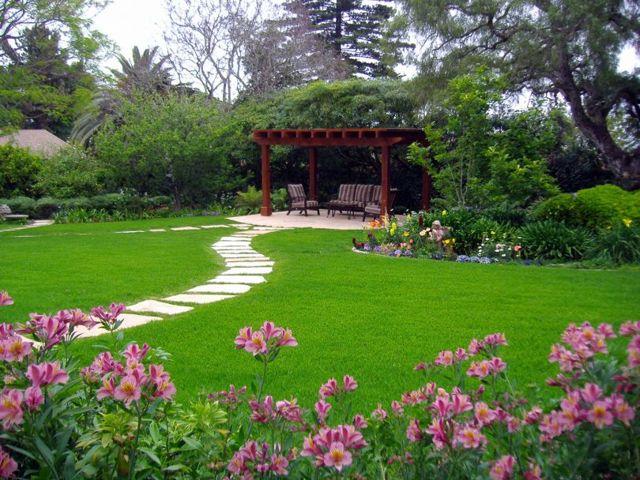 Ландшафтные проекты и эскизы загородных дачных участков