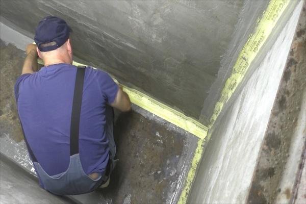 Гидроизоляция бетонной смотровой ямы в гараже от грунтовых вод изнутри