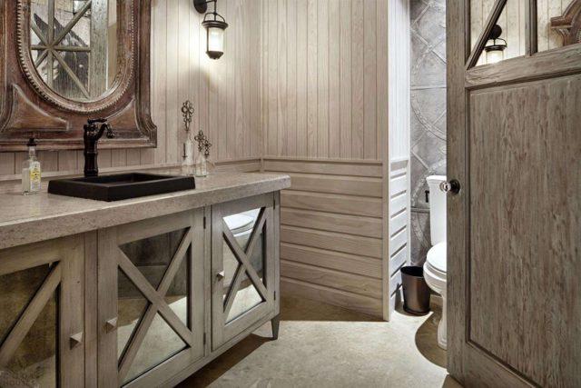 Как сделать ванную комнату в деревянном доме своими руками