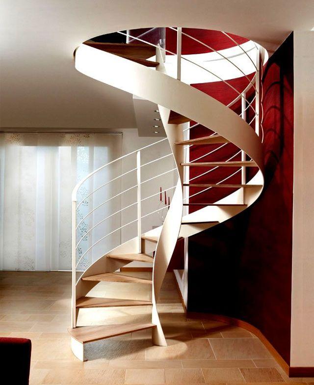 Чертеж винтовой лестницы на второй этаж своими руками: расчеты и схемы