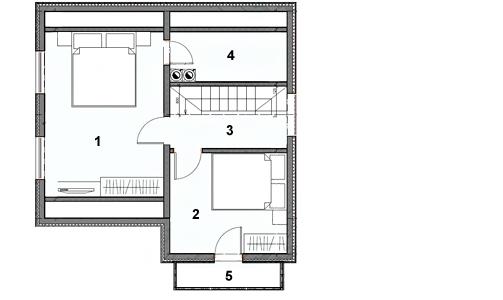 Планировка деревянного дома - готовые планы и чертежи коттеджей