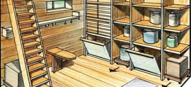 Планировка и чертежи подвала частного дома
